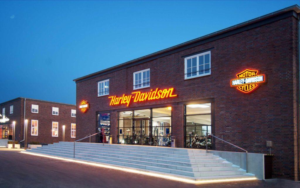 Harley Davidson Store im Lenkwerk Bielefeld